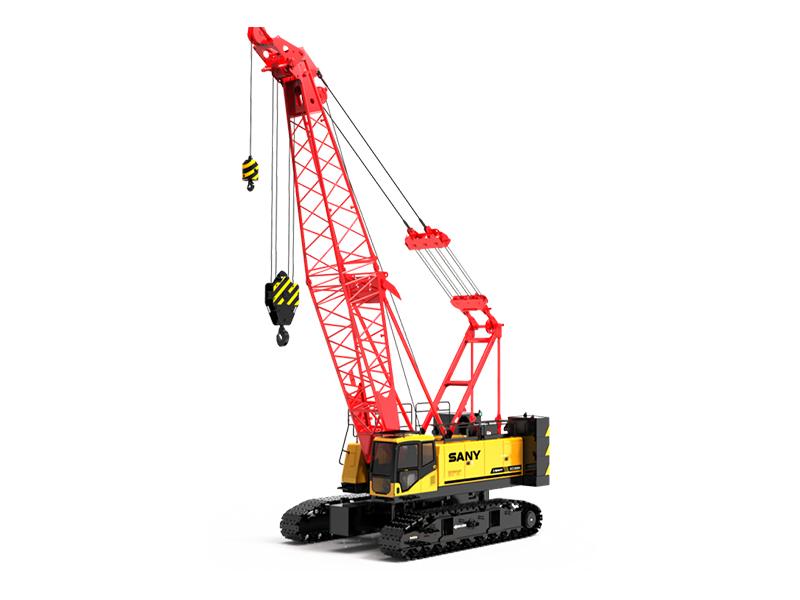 杭州三一90吨履带吊出租-履带式起重机SCC900A