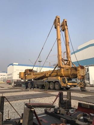 连云港新浦600吨大型吊车出租