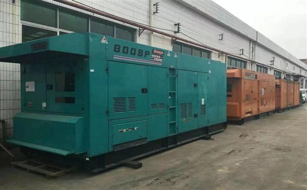 上海工厂发电机出租供电