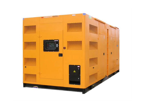 杨浦500-600KW静音发电机组