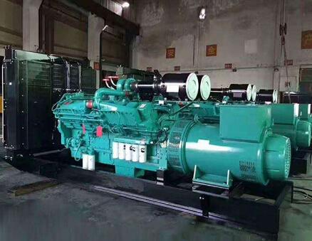 潮州吴川县科克400kw大型柴油发电机组