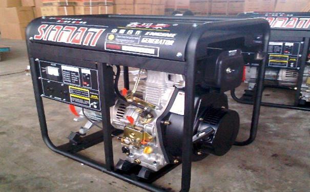 沈阳二手开普5kw小型柴油发电机
