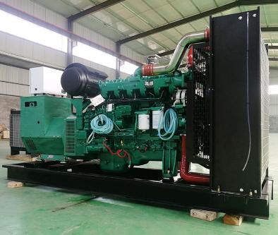 上海嘉定县泰豪500kw大型柴油发电机组