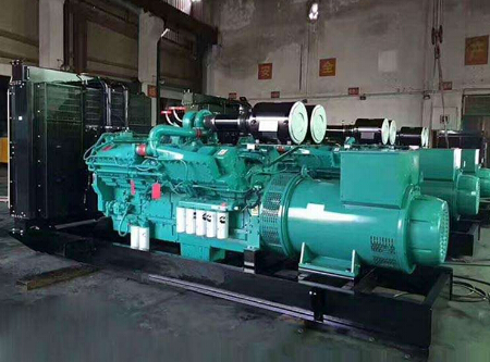 上海二手雅马哈400kw大型柴油发电机组