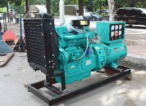 清远二手本田30kw小型柴油发电机组