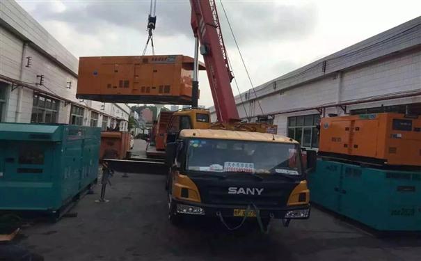 上海二手开普300kw大型柴油发电机组