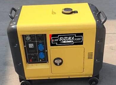 上海二手玉柴5kw小型柴油发电机