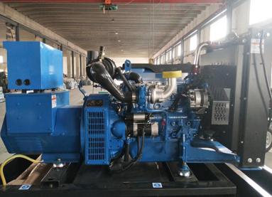 上海嘉定县泰豪200kw大型柴油发电机组