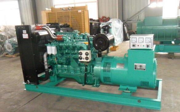 上海二手开普50kw小型柴油发电机组