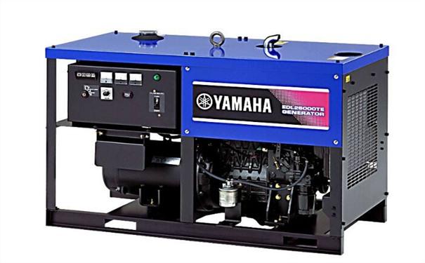 潮州二手雅马哈12kw小型柴油发电机组