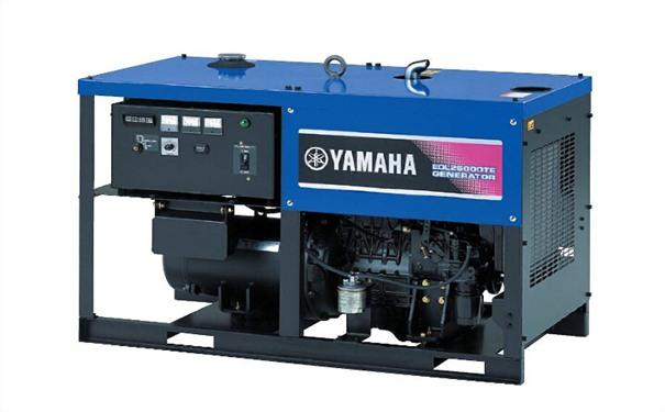 潮州二手雅马哈10kw小型柴油发电机