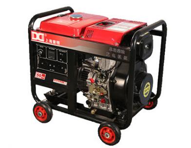 清远二手潍柴5kw小型柴油发电机