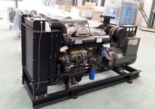 清远二手潍柴12kw小型柴油发电机组