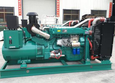 沈阳二手 上柴300kw大型柴油发电机组
